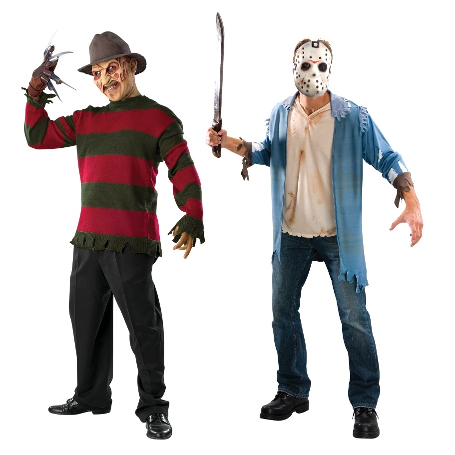 Duo Freddy and Jason Costumes