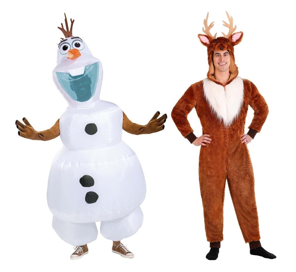 Duo Frozen Costumes