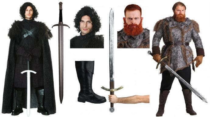 Jon Snow and Tormund Costumes