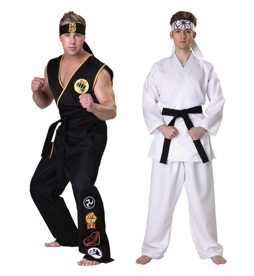 Duo Karate Kid Costumes