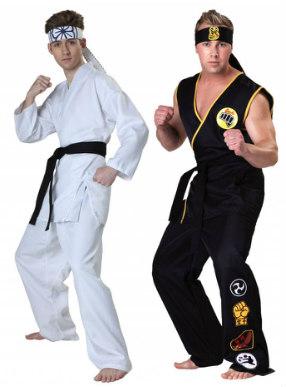 Karate Kid and Cobra Kia Costumes