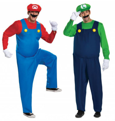 Mario Brothers Costumes