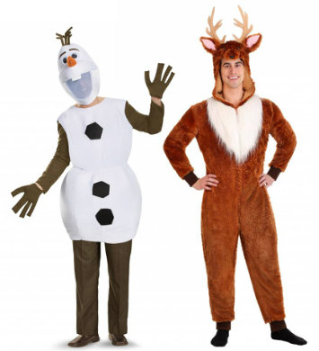 Sven and Olaf Costumes