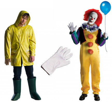 Pennywise and Georgie Costumes