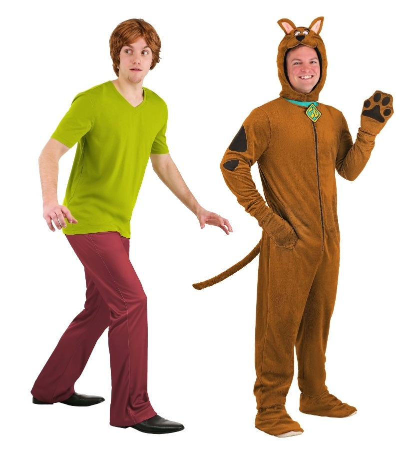 Scooby Doo and Shaggy Costumes