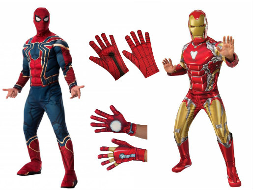 Iron Man and Spider-Man Costumes