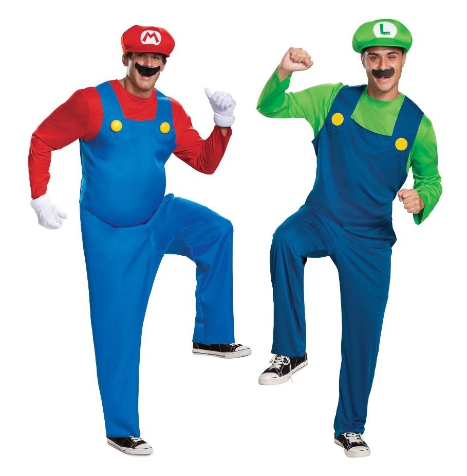 Duo Super Mario Bros. Costume
