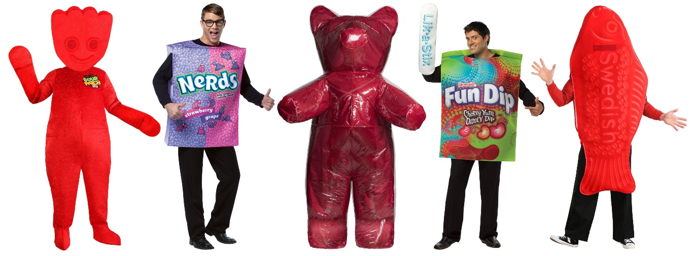 Candy Costumes for Men and Unisex Candy Costumes