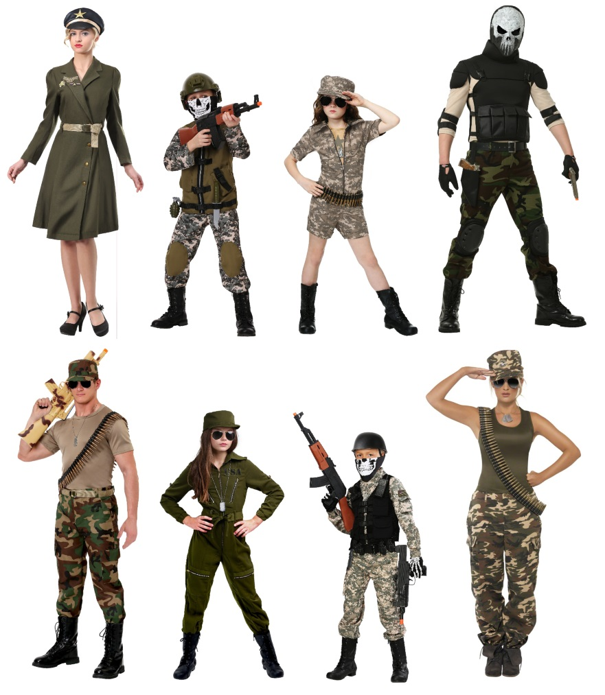 army costume ideas