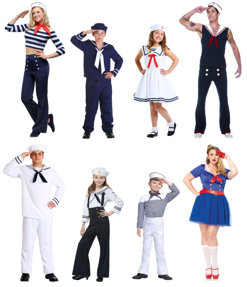 navy costume ideas