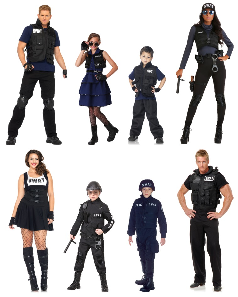 swat costume ideas