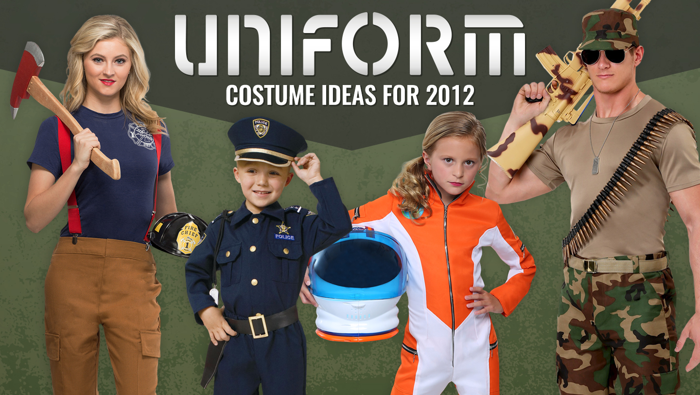 Uniform Costume Ideas for 2012