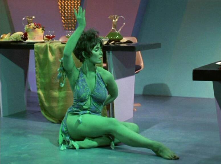 Yvonne Craig Star Trek Alien