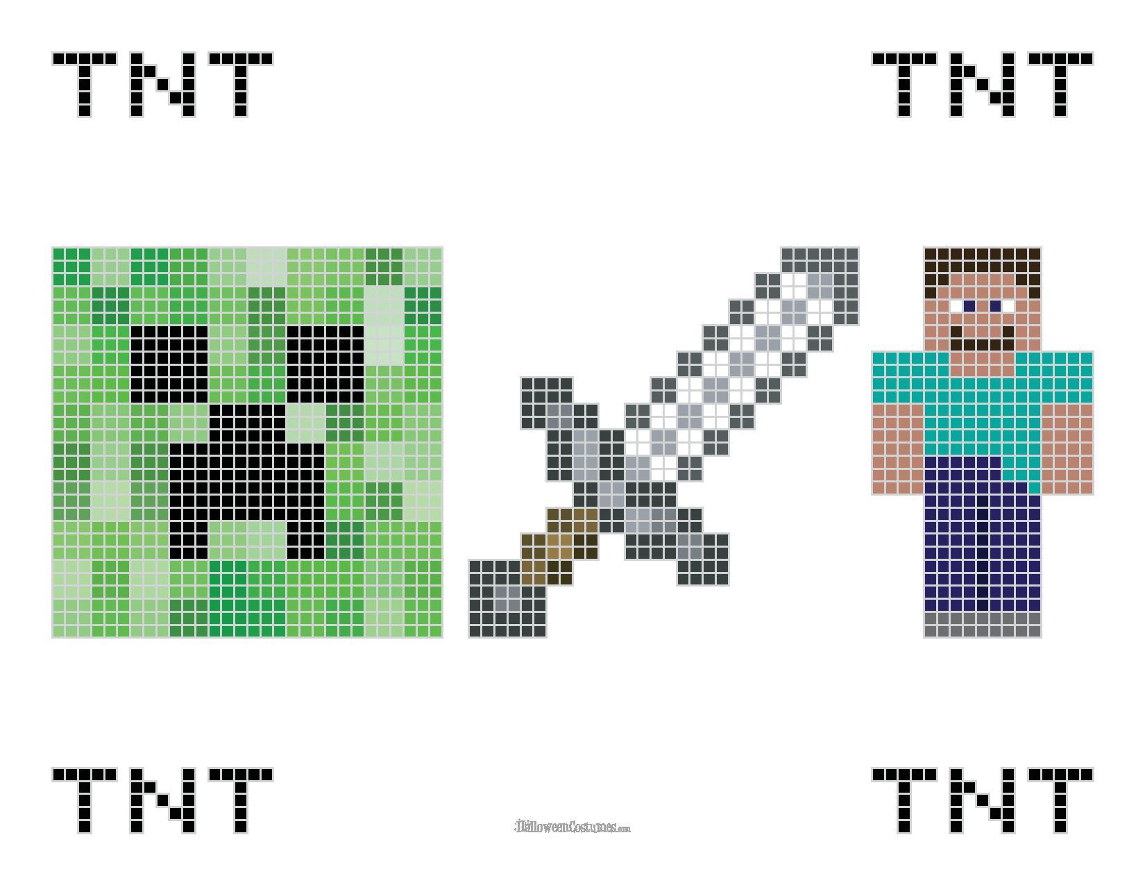 Minecraft Cross Stitch Pattern