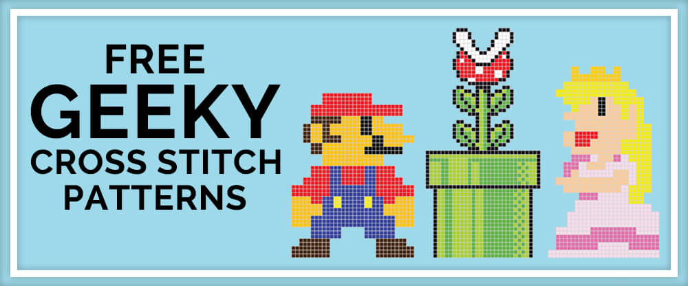 Free Geeky Cross Stitch Patterns
