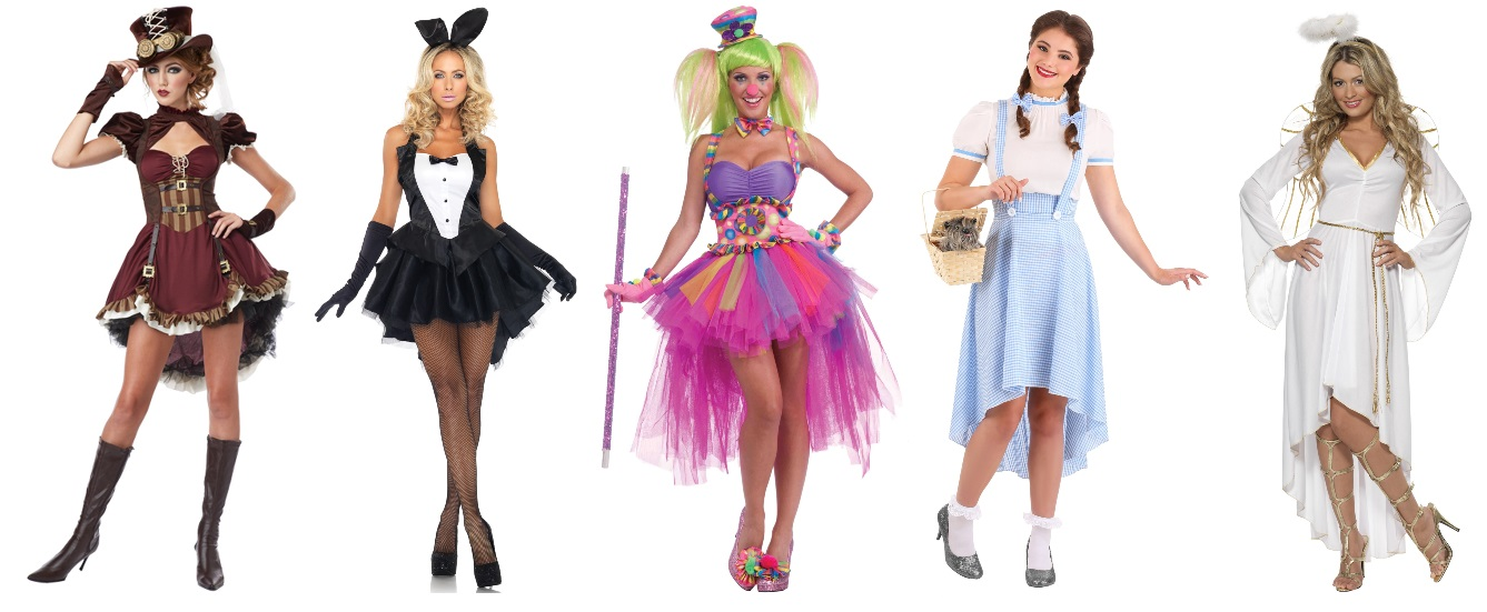Classic High Low Dress Costumes