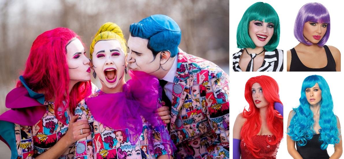 DIY Pop Art Costume Wig Ideas