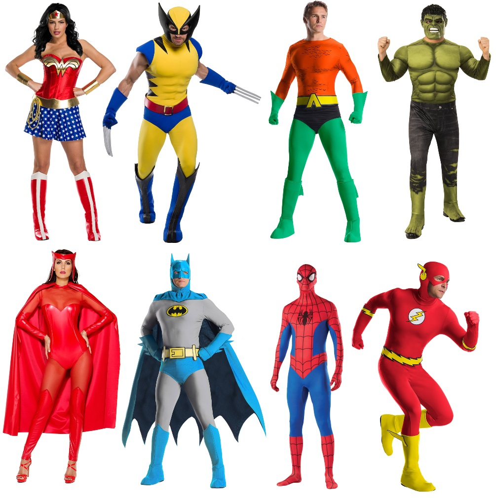 Pop Art Superhero Costume Ideas