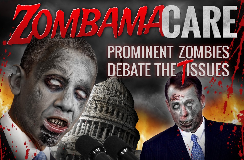 ZobamaCare: Prominent Zombies Debate the Tissues
