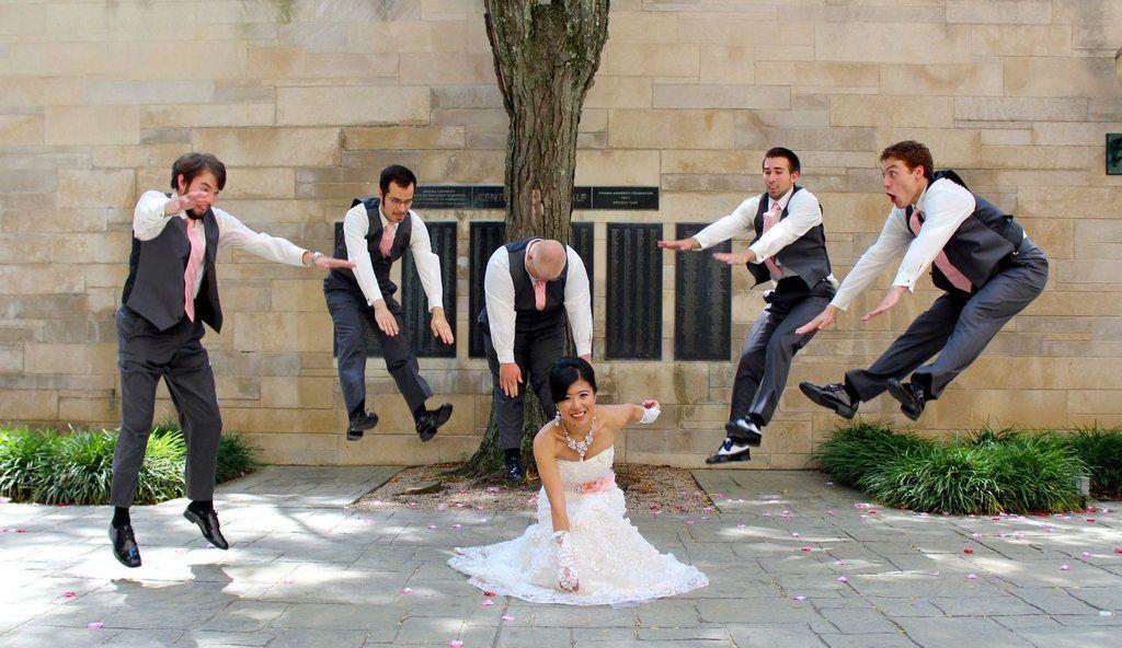 Superhero Wedding Photography