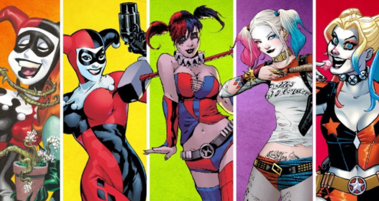 Harley Quinn Character Designs