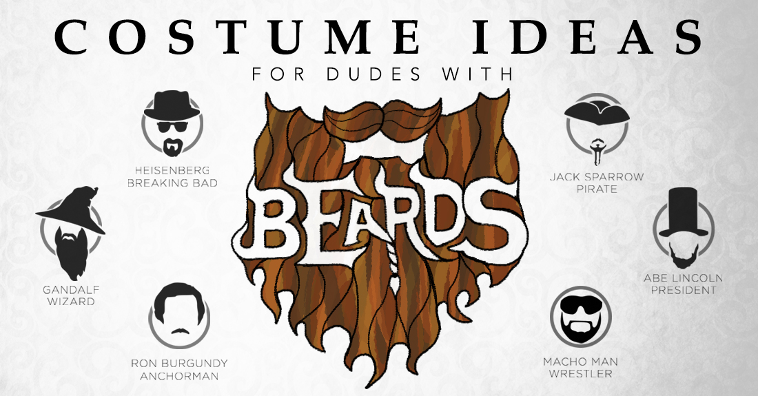 Costume Ideas for Dudes with Beards
