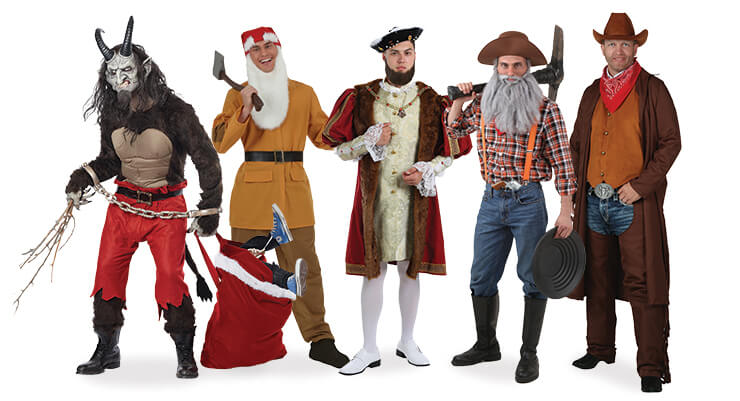 Easy Costume Ideas for Dudes with Beards