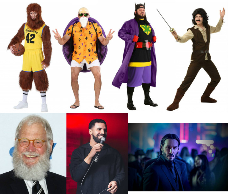 Bearded Costume Ideas