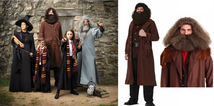 Hagrid bearded costume