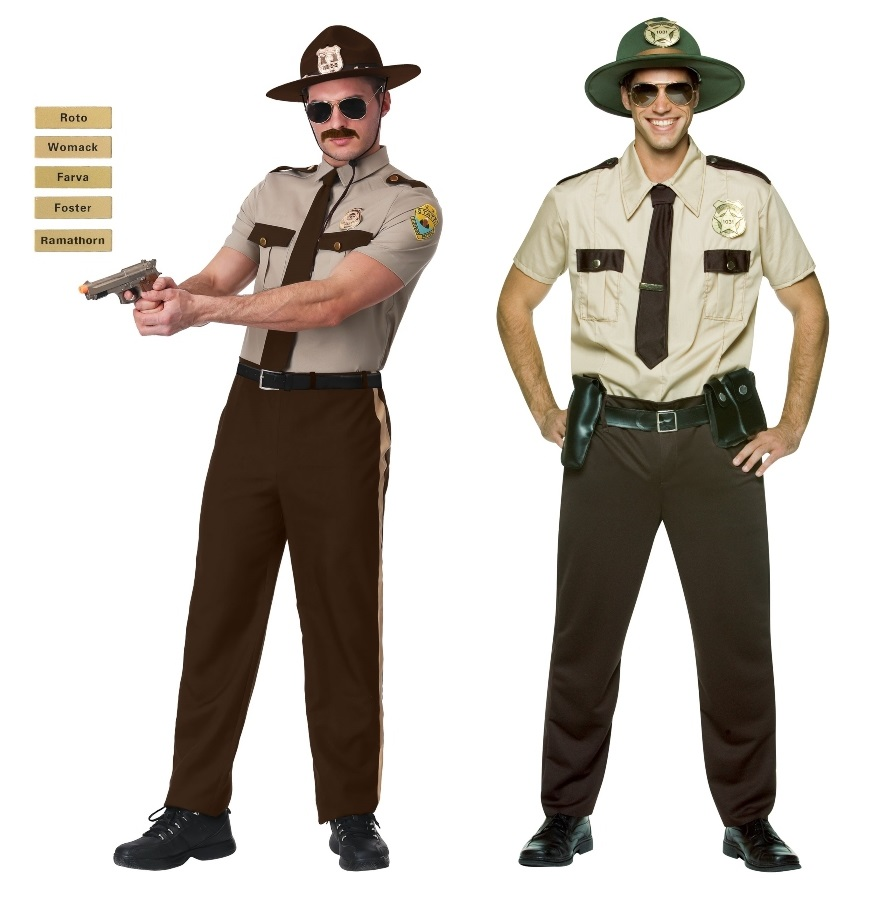 Super Troopers Costumes