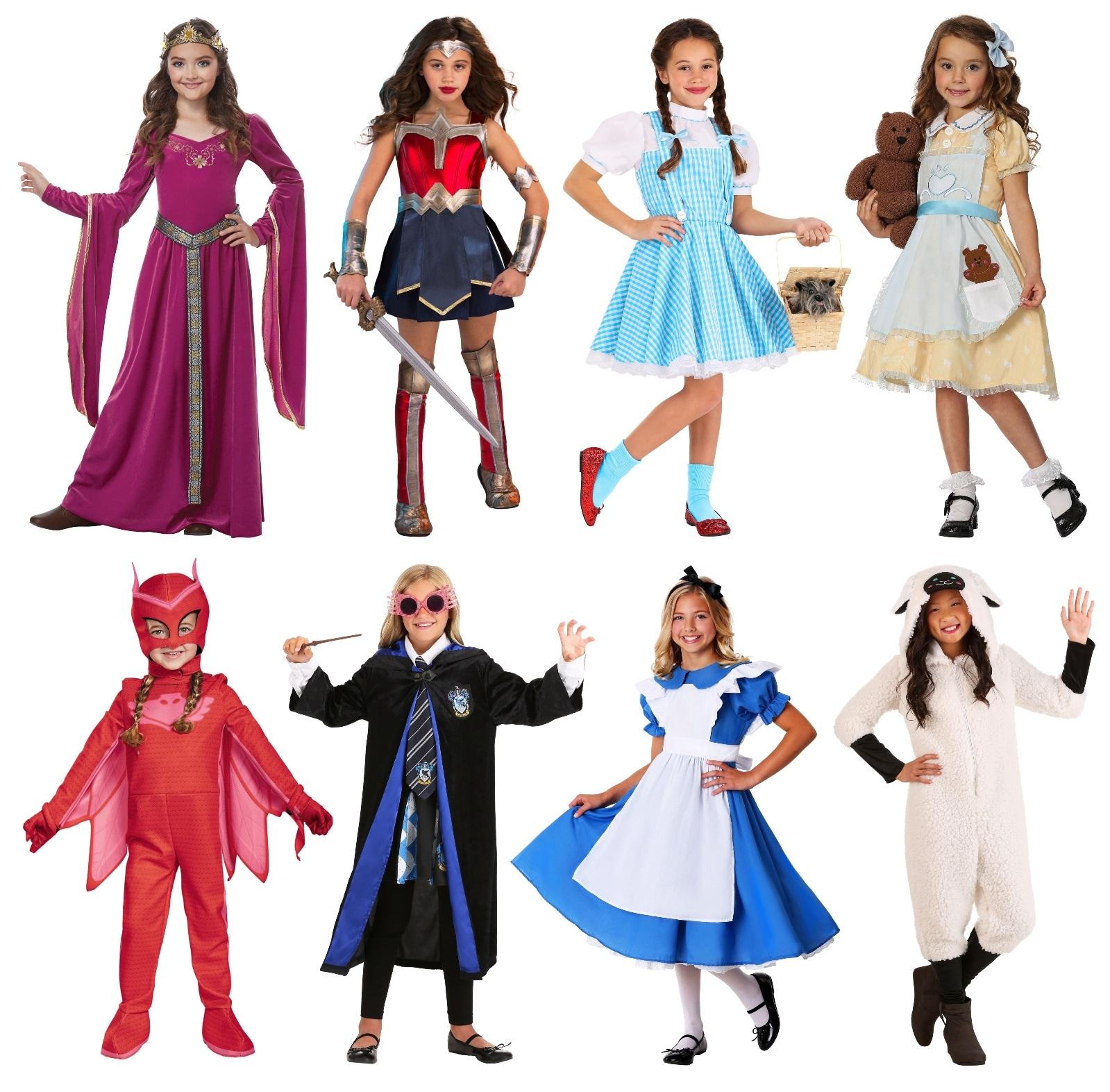 Girls' Purim Costume Ideas
