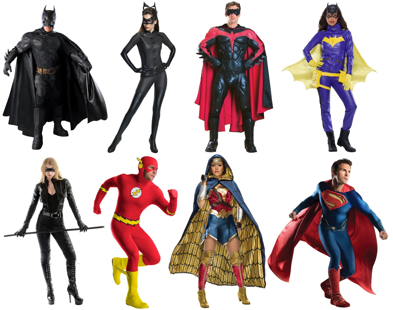 DC Character Cosplay Costumes