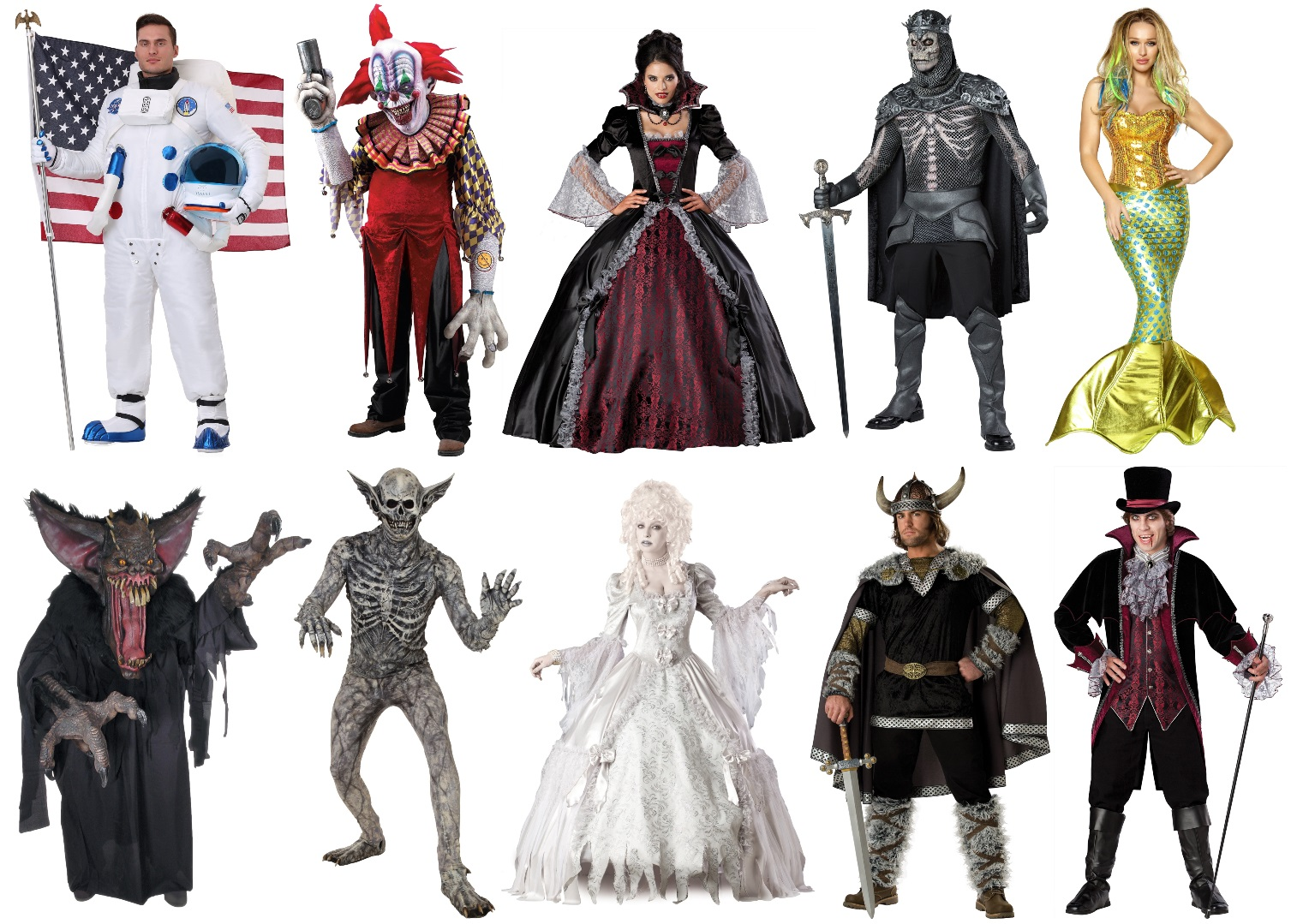 Other High-End Halloween Costumes