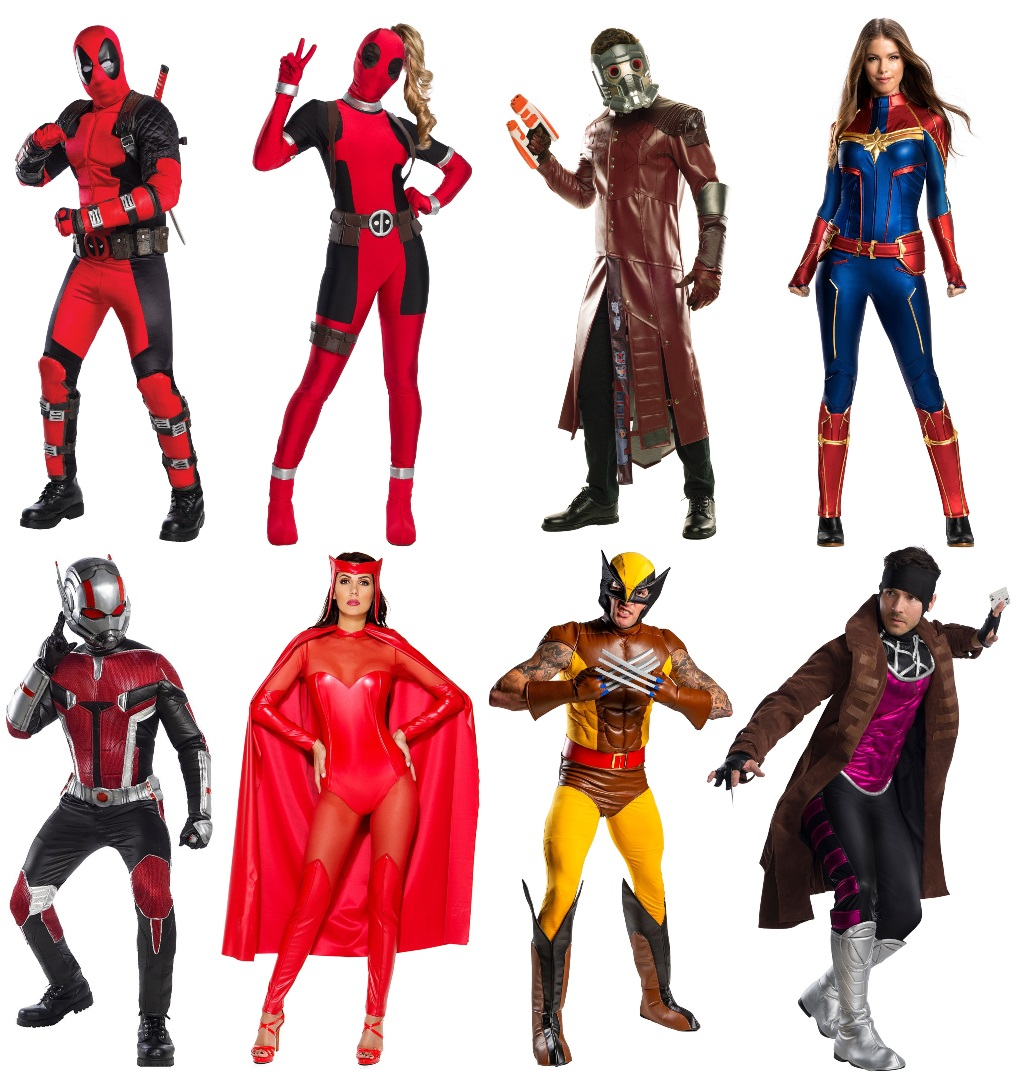 Marvel Character Cosplay Costumes