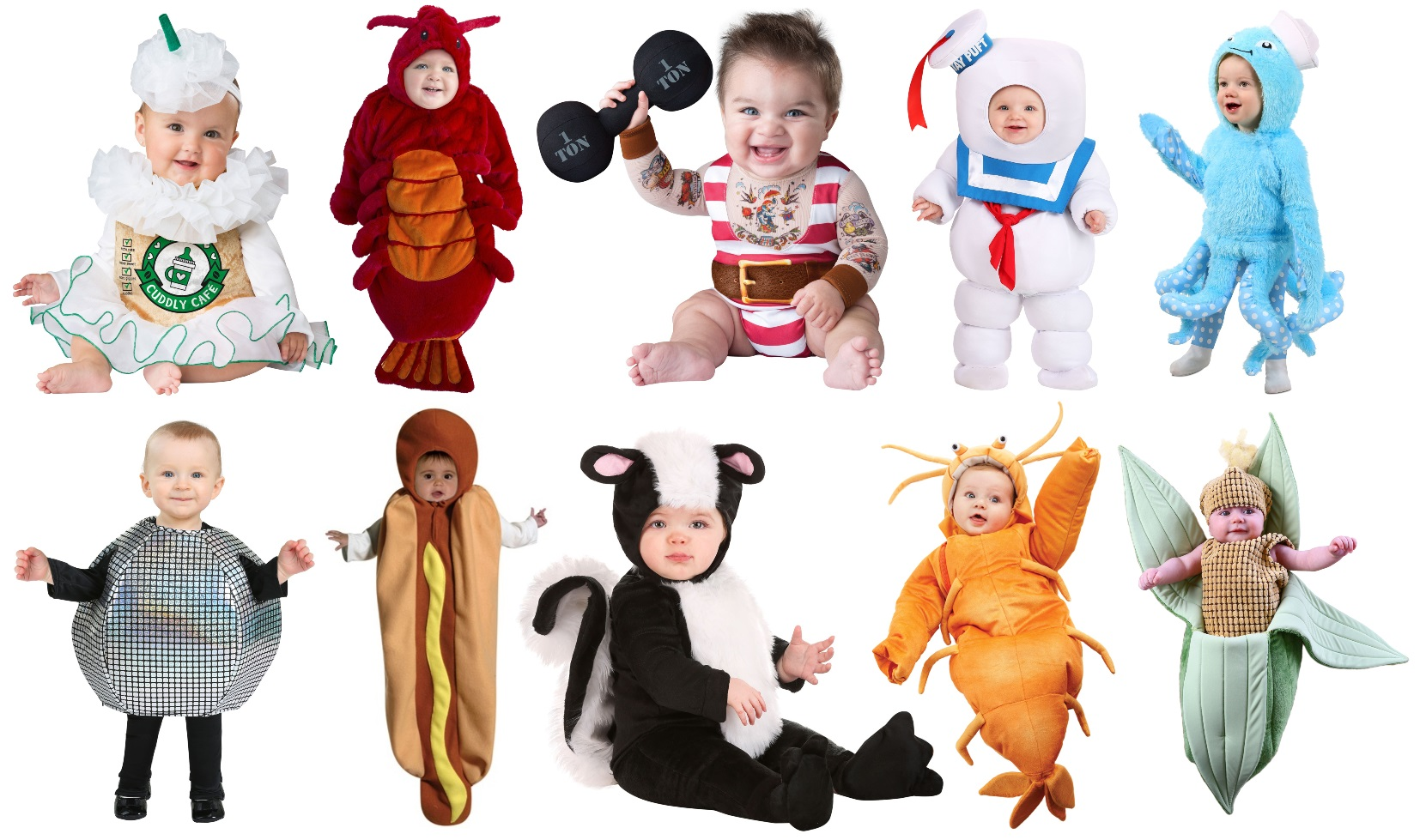 Funny Baby Halloween Costumes
