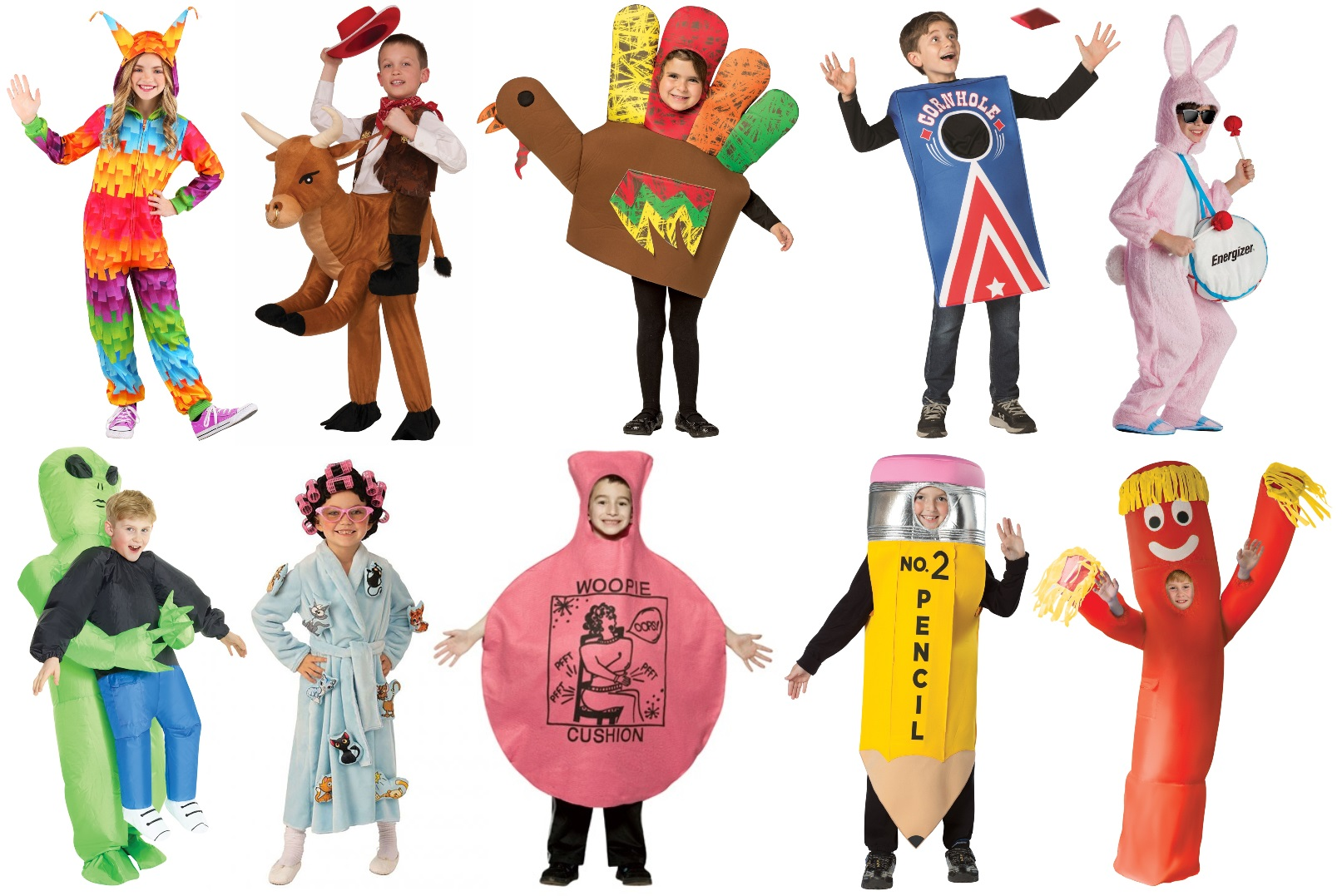 Funny Kids' Halloween Costumes