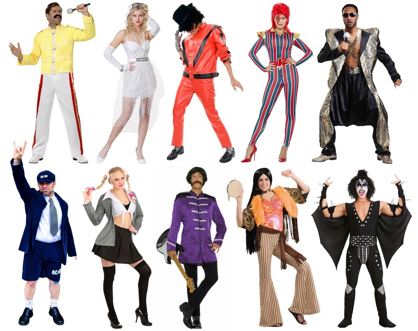 Classic Musician Costumes