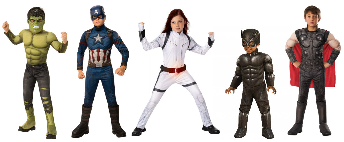 Avengers Kids Costumes