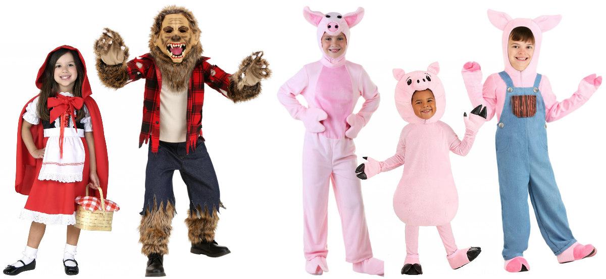 Big Bad Wolf Kids Costumes