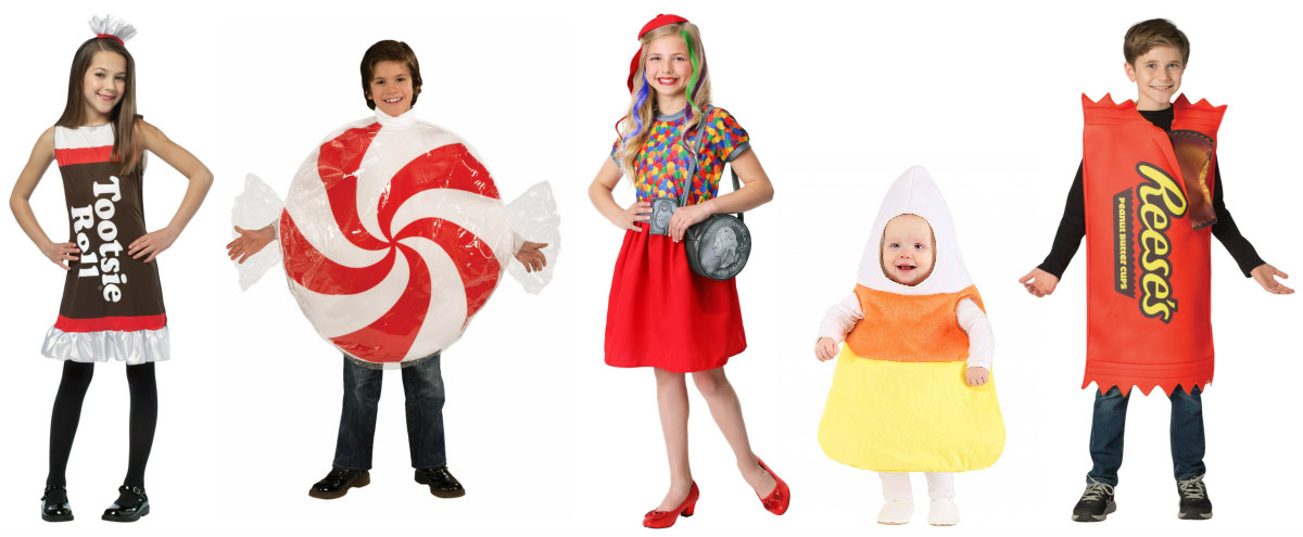 Candy Kids Costumes