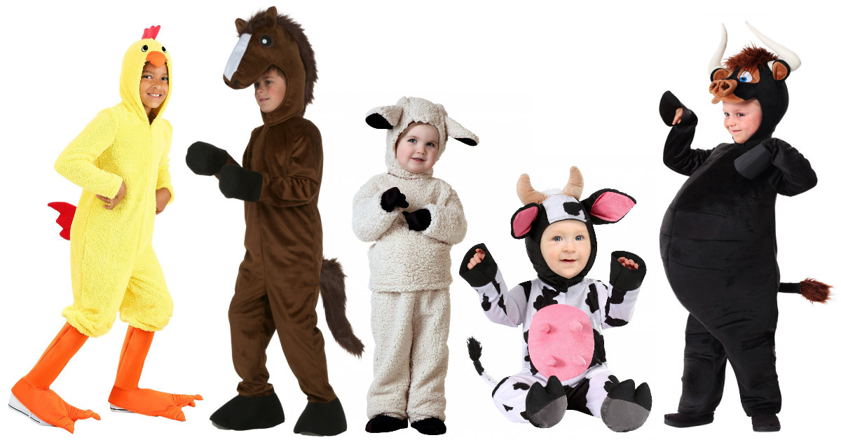 Farm Animals Kids Costumes