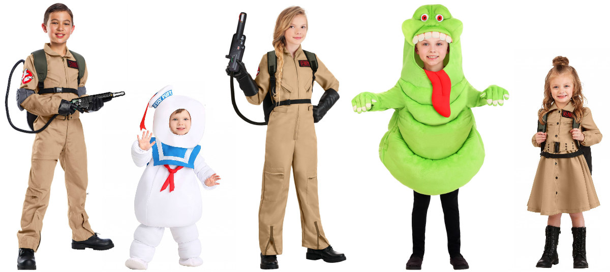 Ghostbusters Kids Costumes