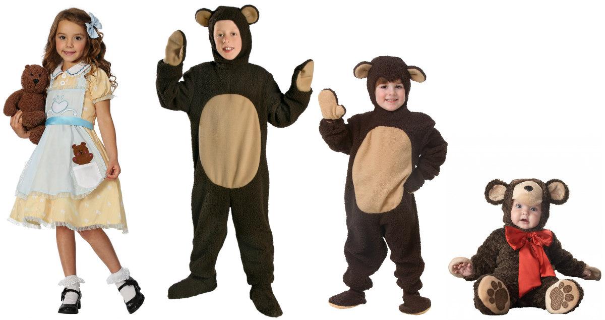Goldilocks Kids Costumes