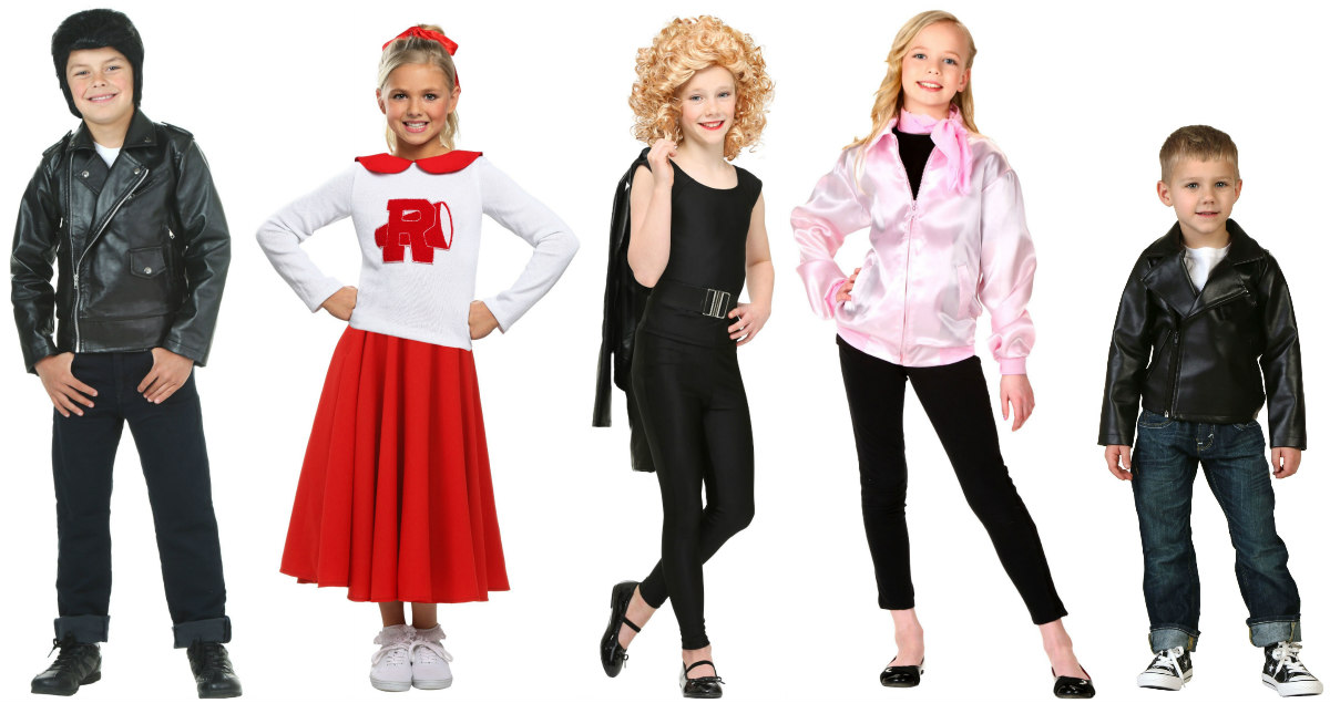 Grease Kids Costumes
