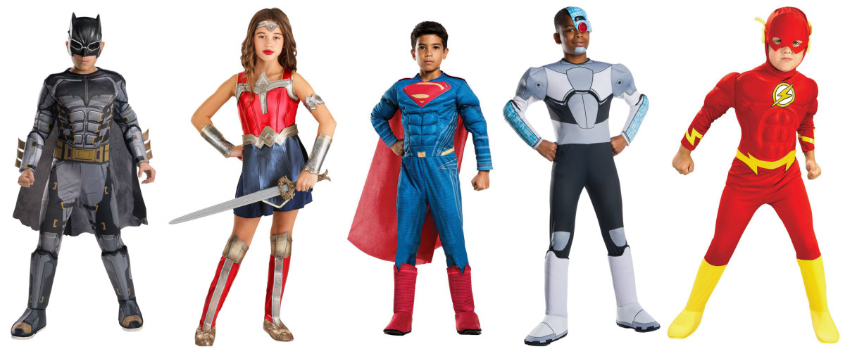 Justice League Kids Costumes