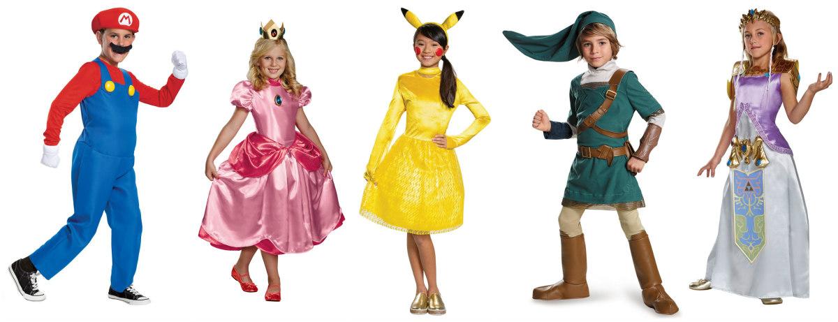 Nintendo Kids Costumes