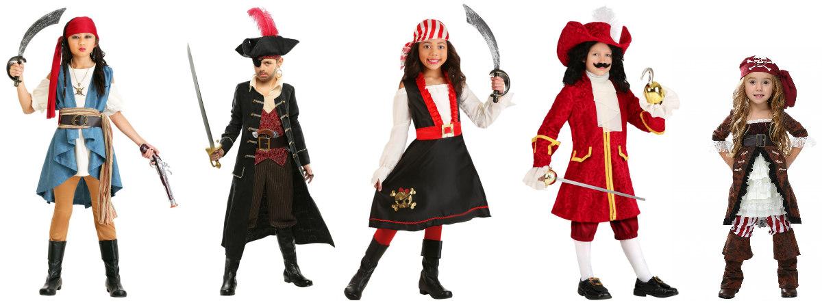 Pirates Kids Costumes