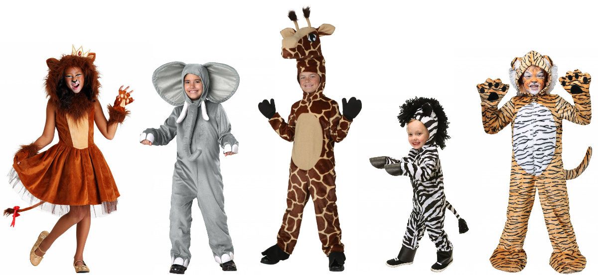 Zoo Animal Kids Costumes