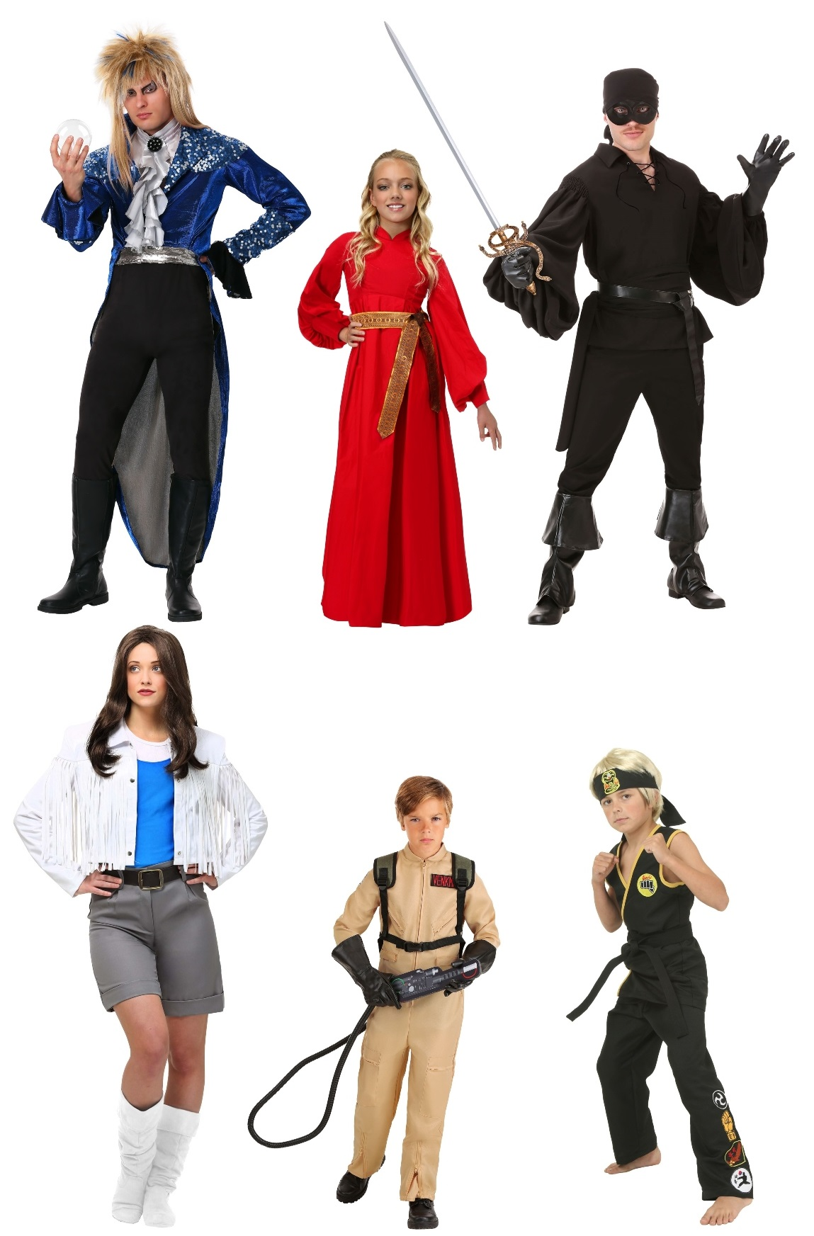 80s Movie Group Costumes