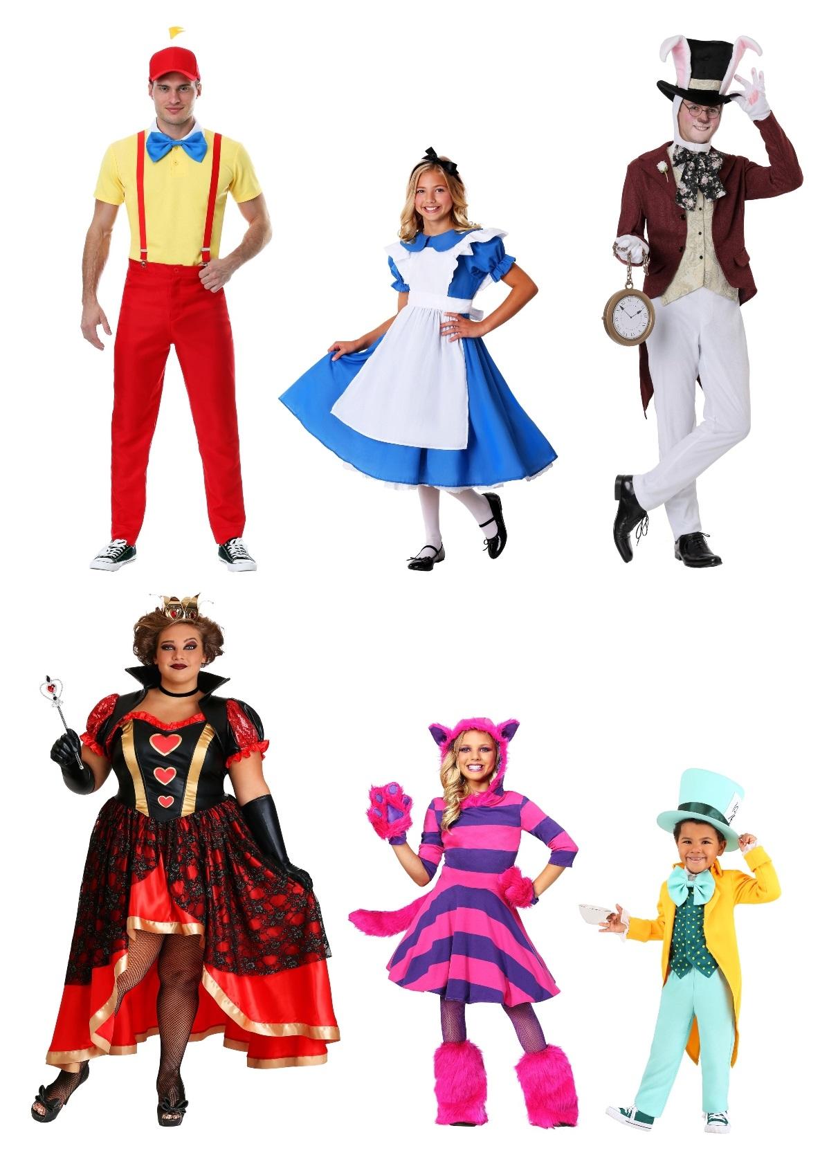 Alice in Wonderland Group Costumes
